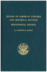 """ALBERT"" - Record of American Uniform and Historical Buttons"