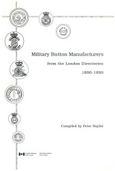 Military Buttons Manufacturers from the London Directories 1800-1899