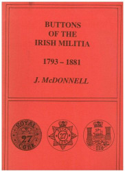 Buttons of the Irish Militia 1793-1881